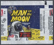 More details for a&bc wrapper-man on the moon 1969 (offer secret siren ring)