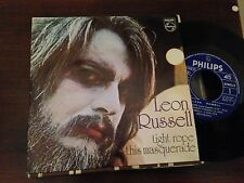 """LEON RUSSELL SPANISH 7"""" SINGLE SPAIN - TIGHT ROPE - CLASSIC ROCK"""
