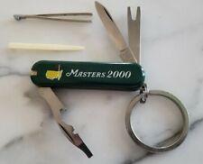2000 MASTERS GOLF AUGUSTA NATIONAL COMMEMORATIVE KNIFE VIJAY SINGH RARE PGA
