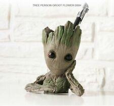 Guardians of The Galaxy 2 Baby Groot Figure Flowerpot Pen Pot Decor Toy Gift 1st