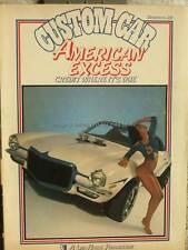 Custom Car December 1979 Chevrolet Camaro Bel Air Pontiac Firebird Model T Coupe