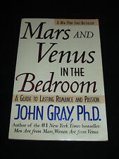tw* JOHN GRAY ~ MARS AND VENUS IN THE BEDROOM  tp