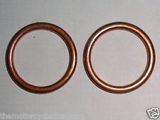 EXHAUST GASKETS for HONDA CB350 SG Twin Set of 2