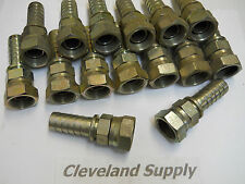 GATES 12-12 FBSPP FEMALE FITTINGS  (SET OF 15) NE CONDITION / NO BOX