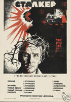 Stalker Andrei Tarkovski 1979 cult movie poster print
