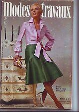 modes et travaux N° 864 Du 01/12/1972
