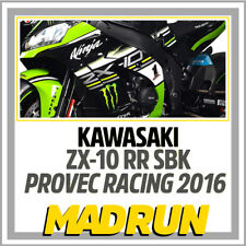 Kit Adesivi Ninja ZX-10 R Team Provec SBK 2016 - Jonathan Rea - Light Version