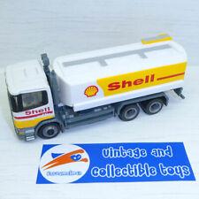 Scania 144L 530 Shell Tanker Truck - Diecast Toy Truck, Plastic Tank