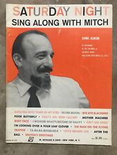 Saturday Night Sing Along With Mitch Songbook Vintage