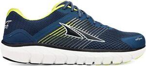 Altra Men's Provision 4 Road Running Shoe, Blue/Lime, 10 D(M) US