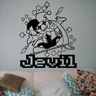 Deltarune - Jevil Wall Decal. Car Decal. Game Art. Vinyl Sticker.