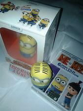 BOX EDIZ.ESCLUSIVA DVD CATTIVISSIMO ME 1,2 CON MINIATURA MINIONS+DVD 6 MINI FILM