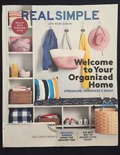 Real Simple Magazine September 2017 - Welcome to Your Organized Home
