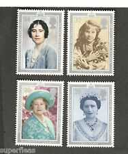 Great Britain SC #1327-1330 MNH Queen Mother's 90th Birthday