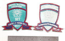 "#081 US ARMY 187 RCT ""UNITED NATIONS A/B"" PATCH"