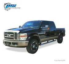 BLACK PAINTABLE OE Style Fender Flares 08-10 Ford F-250, F-350 Super Duty 4pc