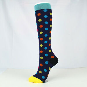 Compression Socks For Women 15-20 mmHg Medical Nursing Cycling Sports Athletic
