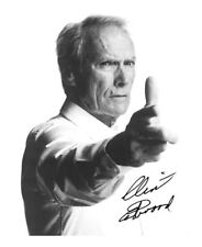 CLINT EASTWOOD SIGNED AUTOGRAPHED A4 PP PHOTO POSTER 2