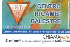 CHIAMAGRATIS - C.RICAMBI BALESTRE - VALIDITA' - DAL 10/12/2002 AL 10/08/2003