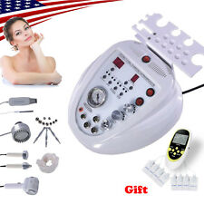 5in1 Microdermabrasion Diamond Dermabrasion Peel Ultrasonic Scrubber Machine Usa