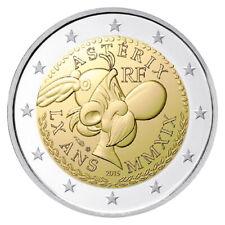 2 Euro Sondermünze 60 Jahre Asterix Frankreich 2019 Proof PP Polierte Platte