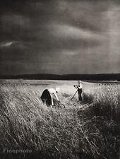 1934 Vintage 11x14 GERMANY Mehndi Peasant Landscape Art ~ ERNA LENDVAI-DIRCKSEN