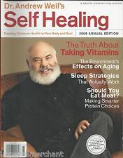 Dr. Andrew Weil Self Healing magazine Vitamins Aging Sleep strategies Protein