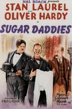SUGAR DADDIES 1927 Laurel and Hardy 18 minutes 400 foot Super-8  Silent Blackhaw