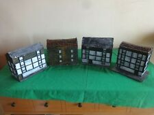 Warhammer 40k Scenery: 4 x Large hand made and painted buildings