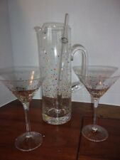 4-Pc Home Party Family Occasion Tabletop Serving 10-Oz Martini Cheers Glass Set