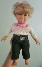 Vtg Full House Talking Michelle Tanner Doll Meritus 1991 Mary Kate Ashley Olsen