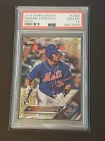 2016 Topps Update Gold /2016 Michael Conforto PSA 10 RC Rookie On Fire!!!