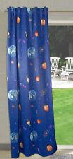 Seitenschal Dekoschal Schlaufenschal Verdunklung Thermo 2264 135 x 245 cm blau