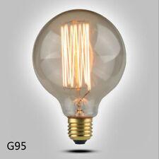 BOMBILLA BULB VINTAGE EDISON G95 -E27 - FILAMENTO TUNGSTENO - 40W - REGULABLE
