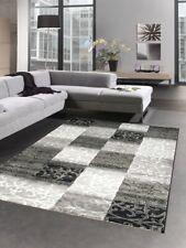 Modern carpet livingroom carpet oriental baroque ornaments grey cream black