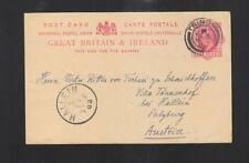 Briefmarken aus Großbritannien als Ganzsache