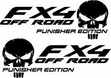 Fx4 Off Road Punisher Edition Decals Ford Truck Vinyl Stickers Set