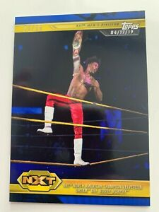 VELVETEEN DREAM Topps 2019 WWE NXT BLUE parallel #90 #'d/50