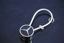 Fashion Car logo Metal keychain keyring Holder Accessories Gif for Mercedes Benz