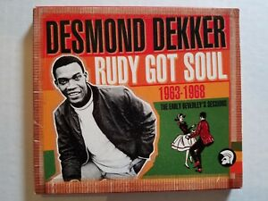 Desmond Dekker - Rudy Got Soul : The Complete Early Ans 1963-1968 (2CD) Ska