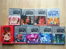 More details for 8 dvds doctor who bundle collection joblot peter davison years