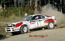 Carlos Sainz Toyota Celica Turbo 4WD Winner New Zealand Rally 1992 Photograph 1