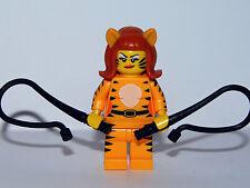 Lego Minifigura Mujer Tigre - Tiger Woman - SERIE 14 - MONSTRUOS - C38