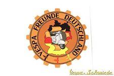 """Decorazione Adesivo """" VESPA AMICI Germania """" - V50 PK PX RALLY Club"""