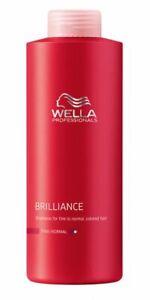 Wella Professionals INVIGO Color Brilliance Shampoo For Fine Hair 1000ml