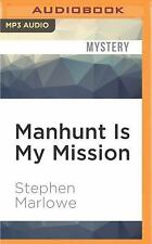 Chester Drum: Manhunt Is My Mission 12 by Stephen Marlowe (2016, MP3 CD,...