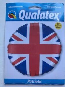 "Qualatex 18"" Patriotic Union Jack Foil Balloon"