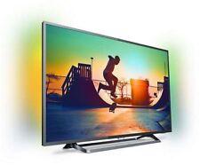 "Philips 43PUS6262/12 Silber Ambilight 43"" Zoll 4K UHD Smart-TV DVB-T2/C/S2 OVP"