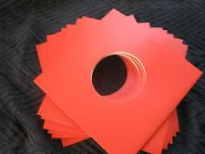 "50 X 7"" RED CARD RECORD MASTERBAGS SLEEVES / COVERS *NEW*"