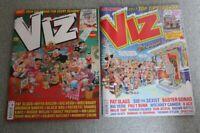 2 x Viz Christmas Issue Magazine 261 Dec 16/Jan 17 & 231 Dec 13/Jan 14